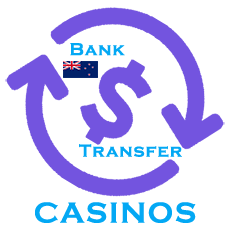 Instant bank transfer casinos NZ
