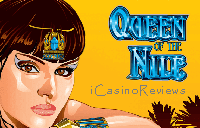 Queen of the Nile online pokie