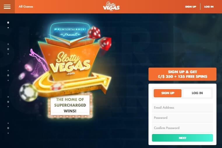 Slotty Vegas casino nz review