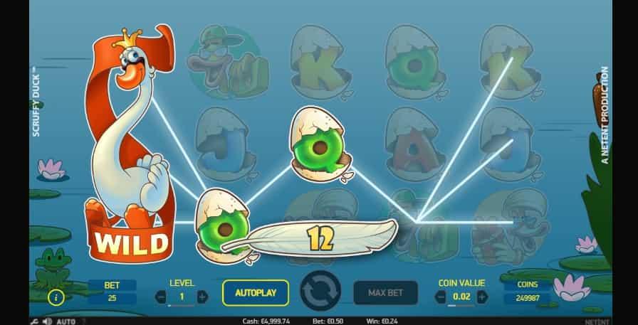 Scruffy Duck Online pokie NZ